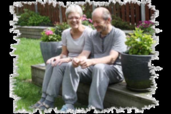 Et billede af Susanne og Mikkel på en flot sommerdag.